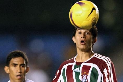 Darío Conca, durante un partido del Fluminense.   AFP