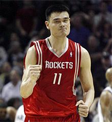 Yao Ming.   Reuters
