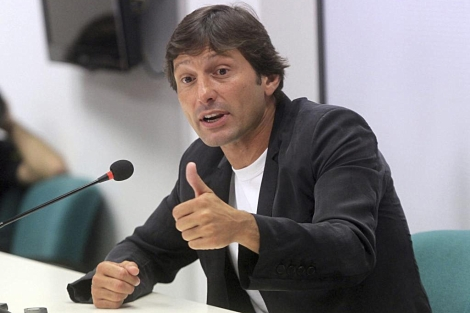 Leonardo durante una rueda de prensa en Milán. | Efe