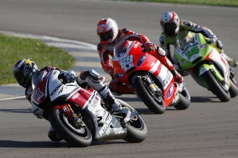 Jorge Lorenzo en el Gran Premio de Indinápolis. | REUTERS
