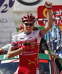 Taaramae gana la etapa.