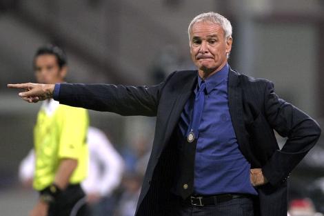 Claudio Ranieri durante el Inter-Nápoles de la Serie A. | Ap