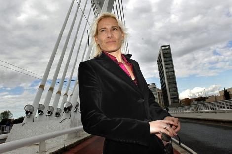 Marta Domínguez, antes del Maratón de Castellón.   Efe