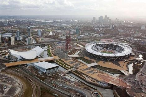 Imagen de algunas de las instalaciones olímpicas. | Afp
