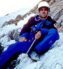 Béghin, en el Annapurna en 1992.