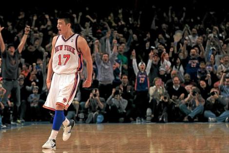 Jeremy Lin, en un encuentro con los New York Knicks. | Afp