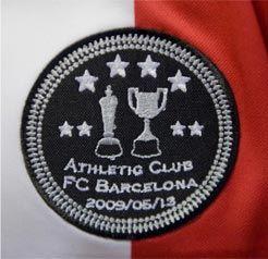 Logo del Athletic en la Copa de 2009