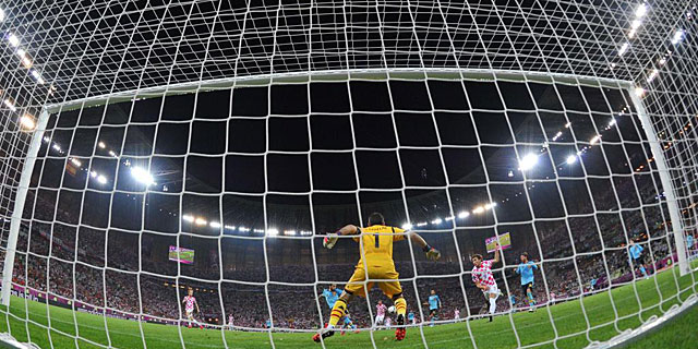 Casillas, antes de realizar una de sus paradas decisivas frente a Croacia. |AFP