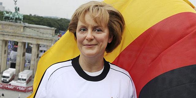Figura de cera de la canciller alemana, Angela Merkel, expuesta en el Madame Tussauds.I EFE