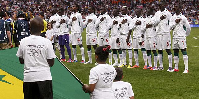 Selección senegalesa de fútbol. (Andrea Comas: Reuters)