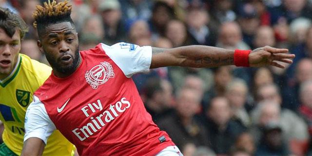Song, en un partido con la camiseta del Arsenal. (Foto: Reuters)