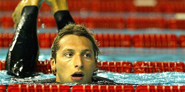 Thorpe, durante una competición en el Mundial de Barcelona en 2003.   Quique García