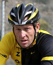 Lance Armstrong. | Afp