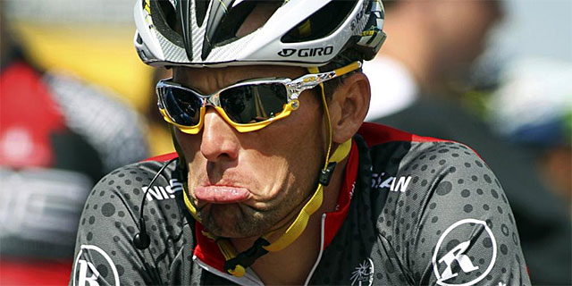 lance Armstrong. | Reuters