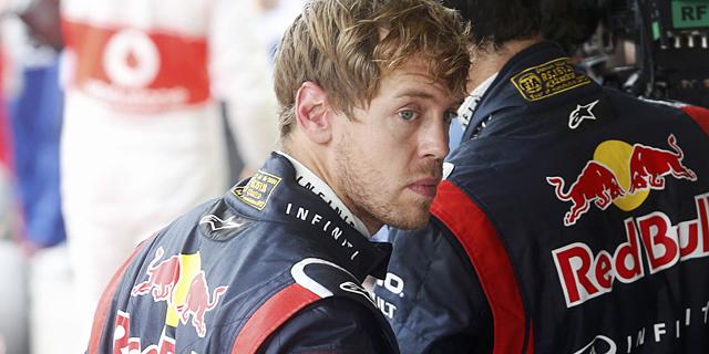 Sebastian Vettel, tras terminar cuarto en la clasificación. | REUTERS