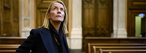 Demongeot, en el Tribunal de Lyon, durante el juicio.   Afp