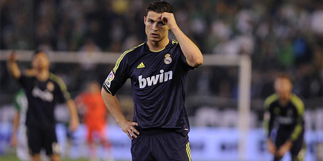 Cristiano lamenta una oportunidad perdida en el Villamarín. (Foto: Afp)