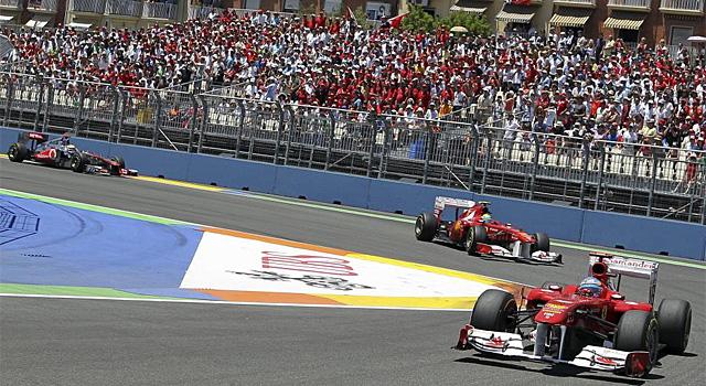 Fernando Alonso, en el Gran Premio de Europa celebrado en Valencia | Vicent Bosch (El Mundo)