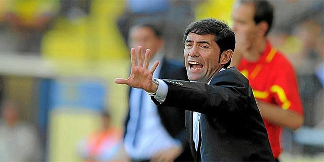 Marcelino, en su etapa como técnico del Sevilla. | Afp