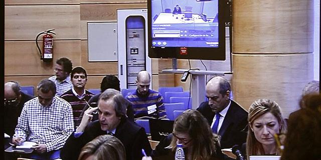 Imagen del juicio de la 'operación Puerto' (EFE)