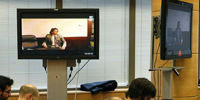 Tyler Hamilton, durante su declaración en el juicio de la 'operación Puerto'. | EFE