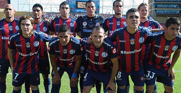 Imagen de los jugadores de San Lorenzo antes del encuentro | AFP
