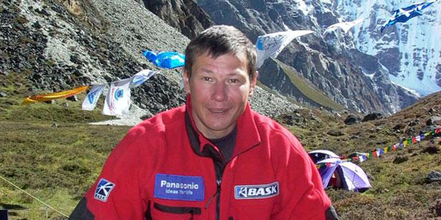 Alexei Bolotov durante una de sus numerosas expediciones. /www.mountain.ru