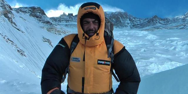Carlos Pauner durante una de sus expediciones. |EL MUNDO