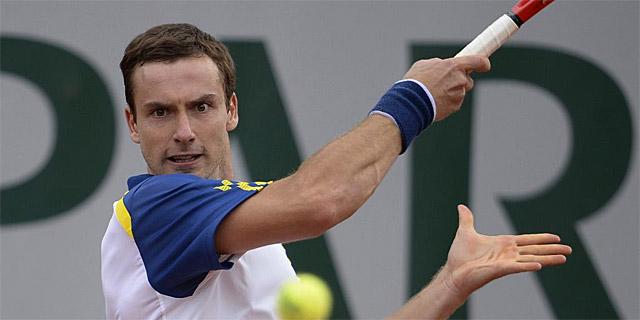 Ernests Gulbis, en Roland Garros. | Afp