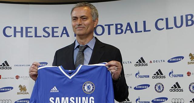 José Mourinho, durante su presentación con el Chelsea. | REUTERS