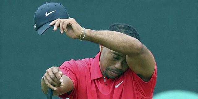 Tiger Woods, durante la última jornada del US Open.   Reuters