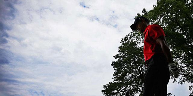Tiger Woods, en la última jornada del pasado US Open. (REUTERS)