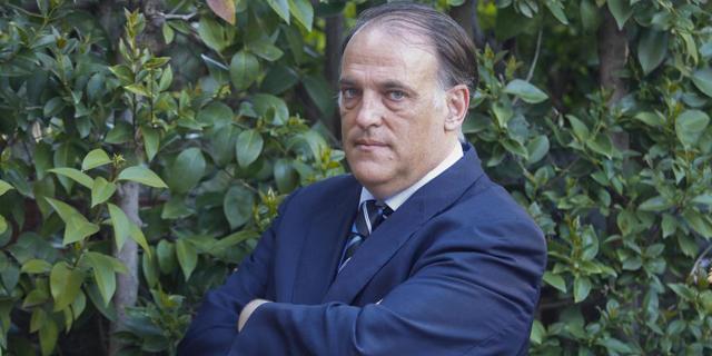 Javier Tebas, presidente de la LFP. | MUNDO