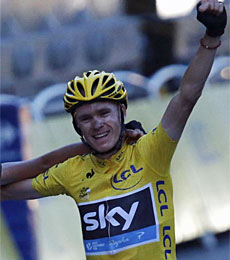 Chris Froome. (AFP)