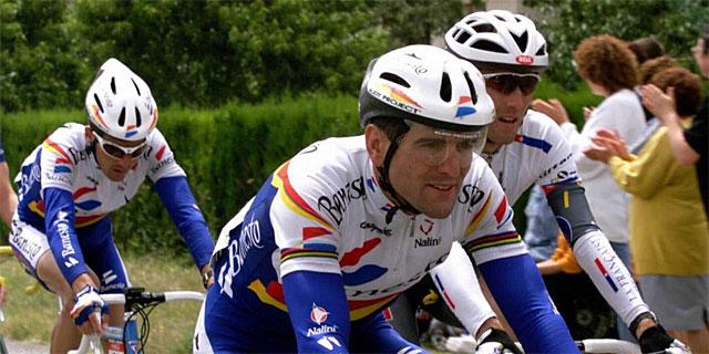 Abraham Olano, durante el Tour de 1998. | Efe