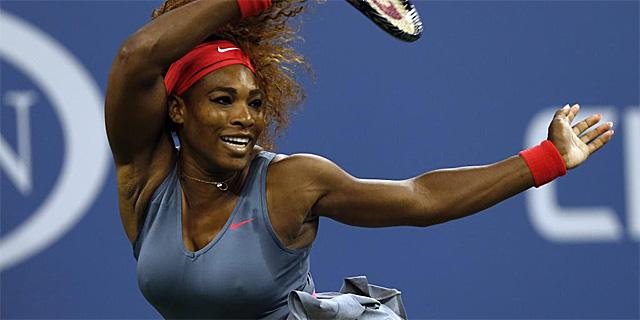 Serena Williams, en el US Open.   Afp
