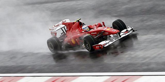 Fernando Alonso, durante el GP de Corea de 2010. | Efe