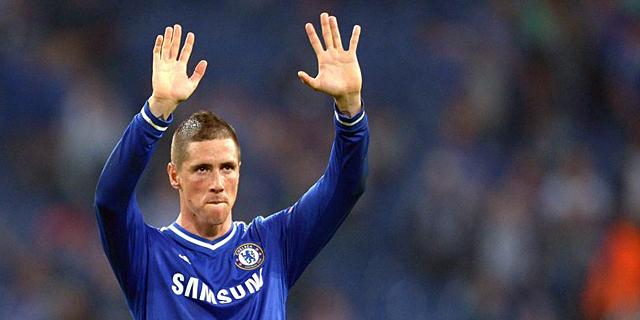 Fernando Torres, tras la victoria del Chelsea ante el Schalke. | Efe