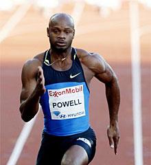 Asafa Powell.