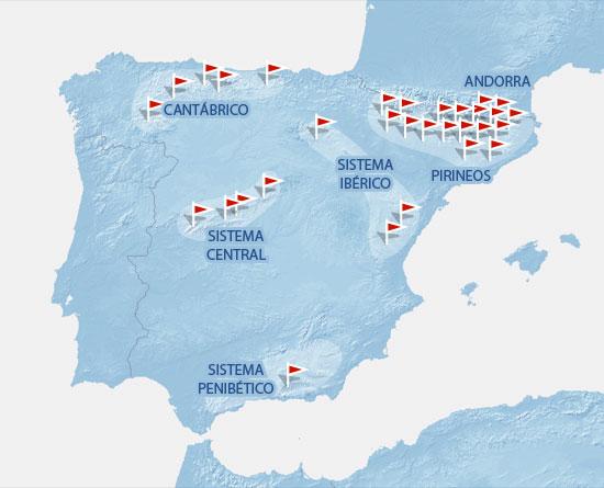 Estaciones De Esqui Mapa.Estaciones De Esqui Elmundo Es