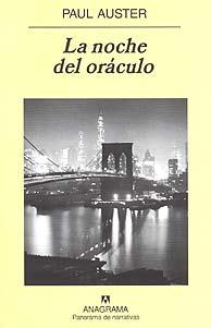 'La noche del oráculo', novela de amor y perdón de Paul