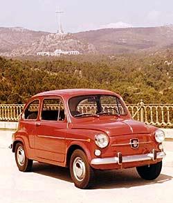 El primer Seat 600 llegó en 1957