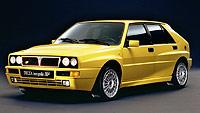La última evolución para las carreras del aclamado Delta HF (1992) equipaba un motor de dos litros con turbo que desarrollaba 300 CV y una punta de 215 km/h.