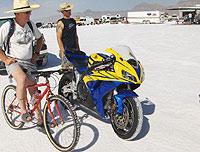 En el evento participan vehículos de dos, tres y cuatro ruedas.