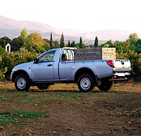 Las camionetas 'pick up' son vehículos especialmente enfocados a la agricultura, pero la mayoría son 4x4.