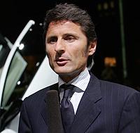 Stephan Winkelmann durante el Salón de Ginebra. FOTO: AP