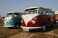 Concentración de furgonetas Volkswagen