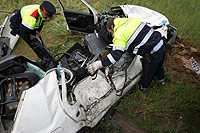 Un 14% de los muertos en accidentes de carretera son extranjeros