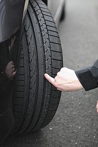 control de neumáticos