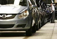Fábrica Opel Corsa. Foto: Afp